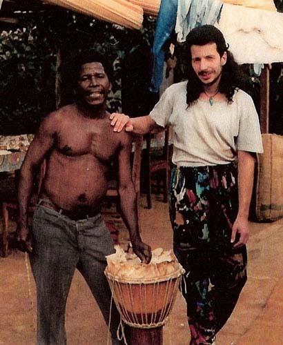 Famoudou Konate + Thomas (Conakry, Guinea 1990)