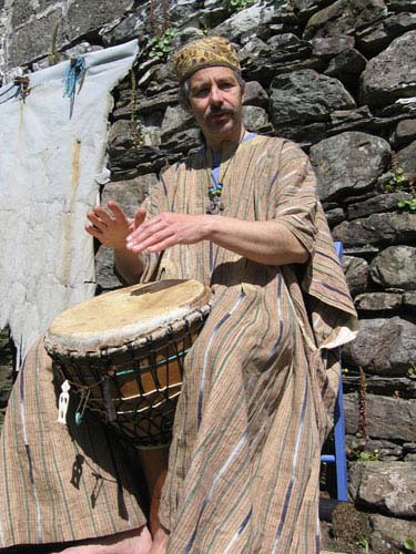 playing Djembe (2005)