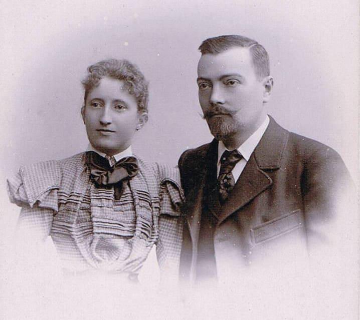 Käthe Becker & Heinrich Reuss - 1898