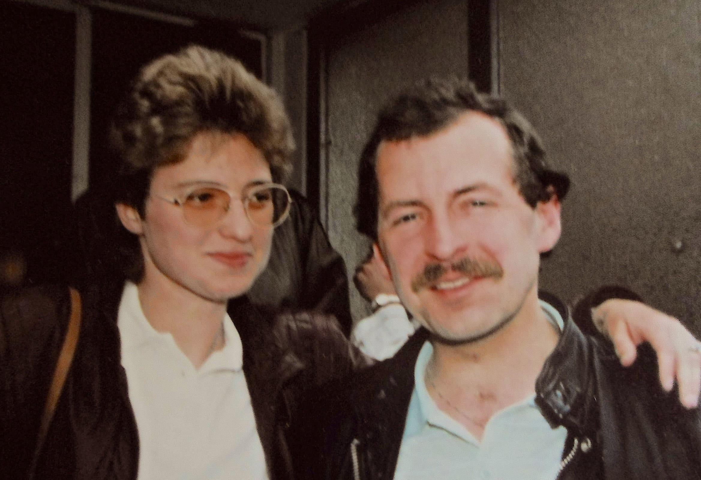 Michael & Elisabeth Wiegandt - 1977