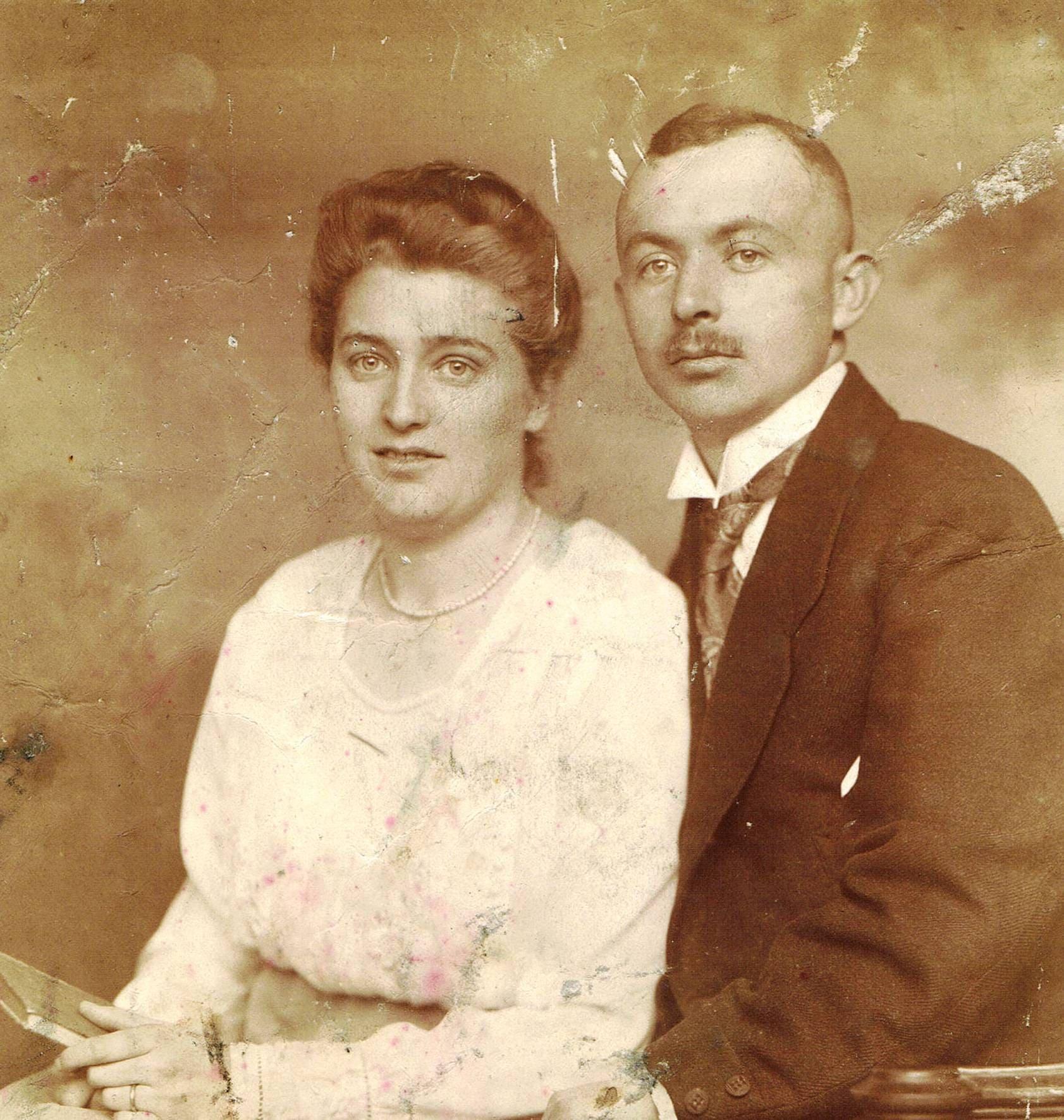 Paul & Hedwig Wiegandt - 1920