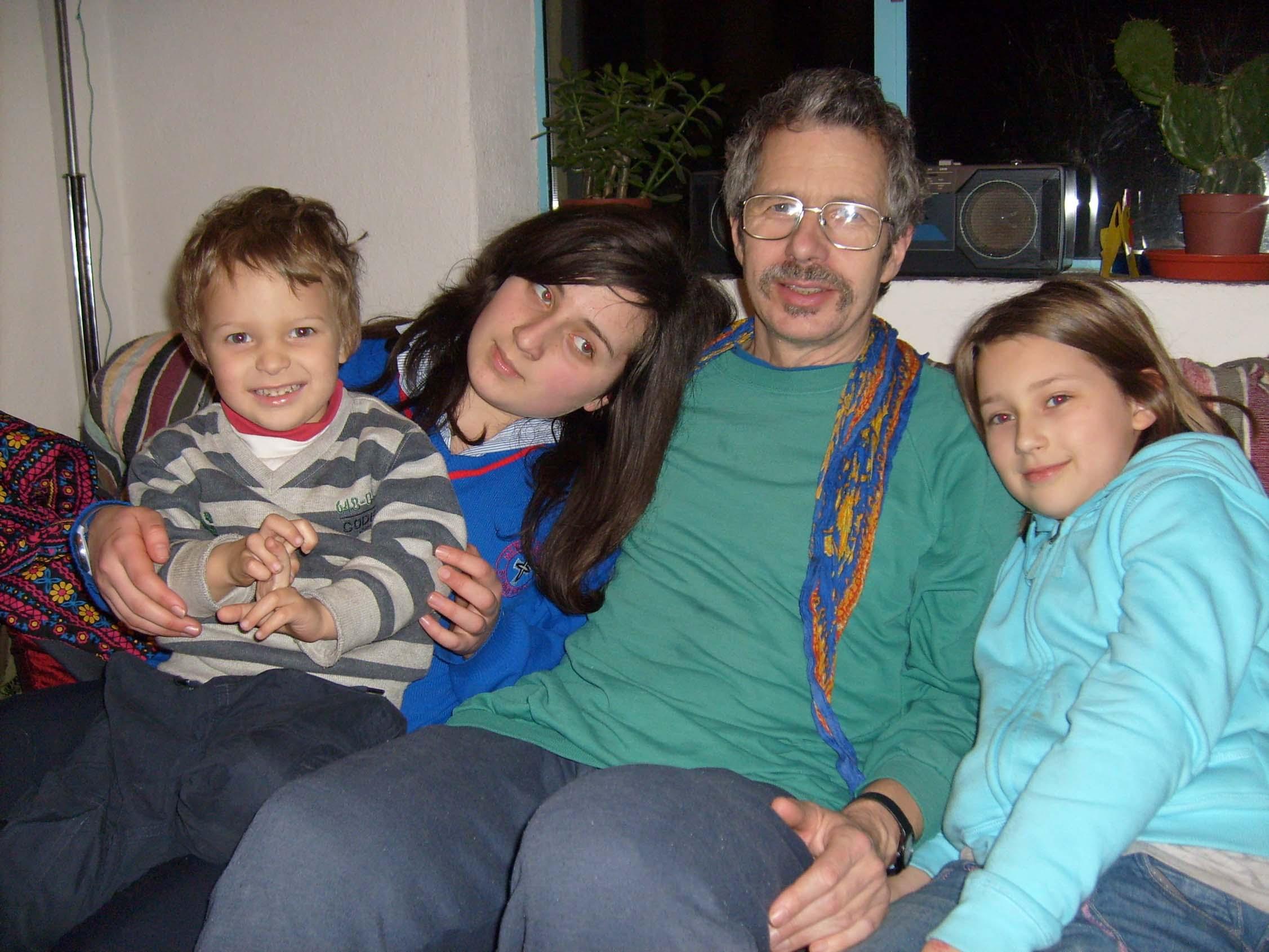Rafael, Maire, Thomas & Aleesha Wiegandt - 2010