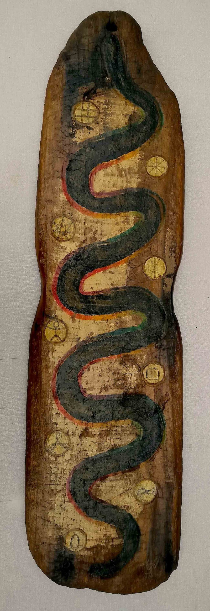 Cosmic Rainbow Snake (0 to 9)