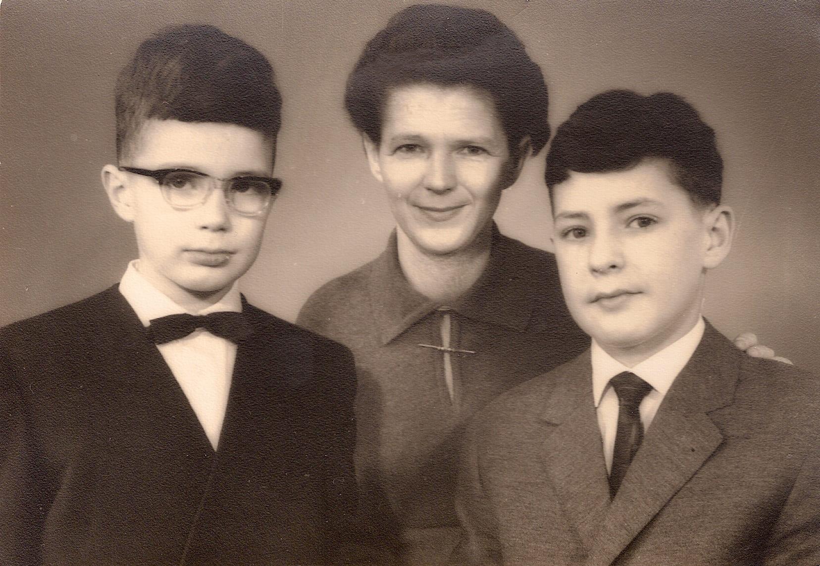 Thomas, Gisela & Thomas Wiegandt - 1966