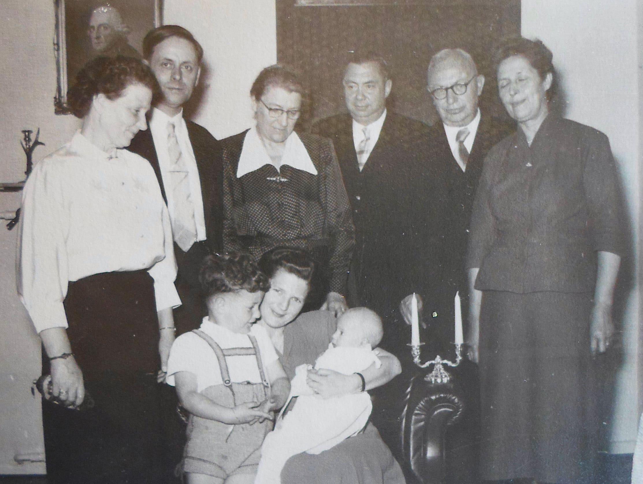Thomas Wiegandt - Baptism Family Celebration - 1955