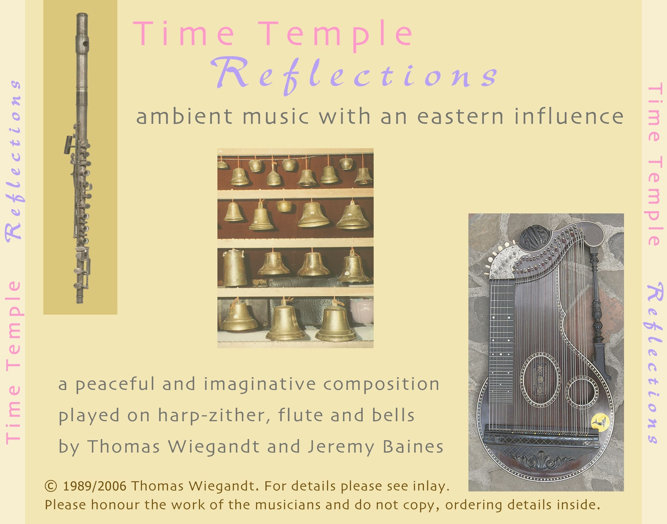 Time Temple - Reflections - CD backcover